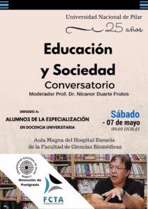 Conversatorio Educación y Sociedad